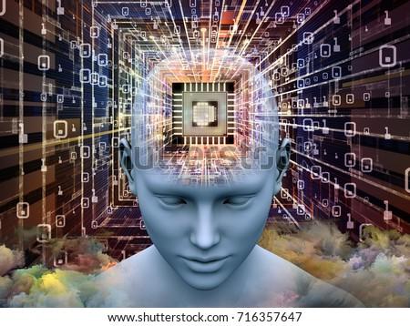 mind processor series. 3d...