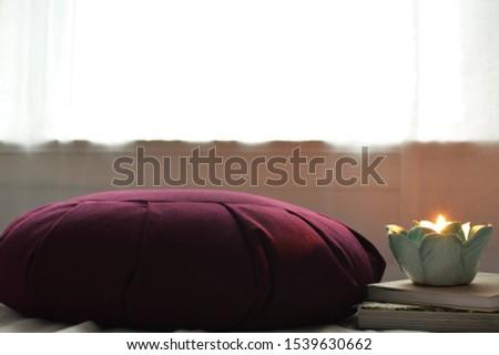 Mindfulness and Meditation Background for Text Stok fotoğraf ©