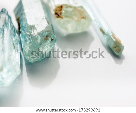 Mineral Crystals Background