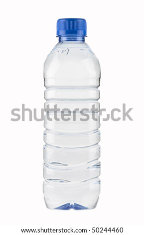 Mineral Water Bottle,PET,small,isolated with paths #50244460