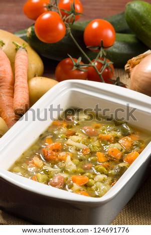 Minestrone - Italian vegetable soup