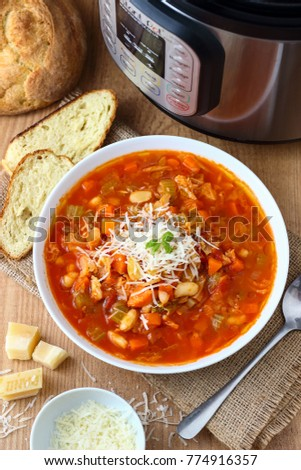 Minestrone Soup made in Instant Pot Pressure Cooker #774916357