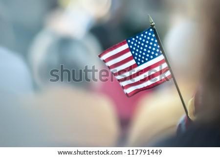 mini american flag #117791449