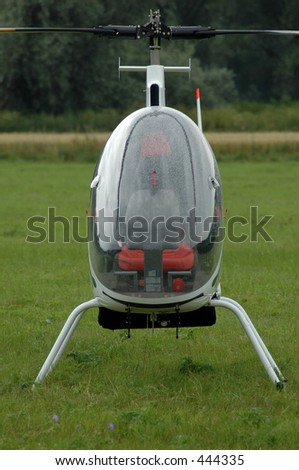 mini copter on grass