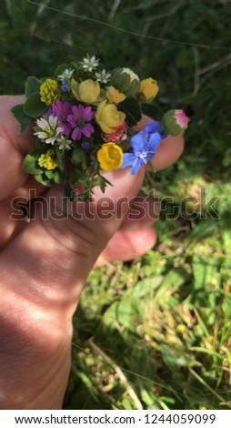 Mini flower for Barbie
