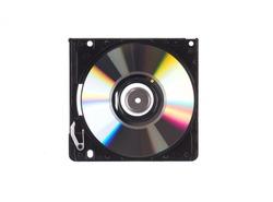 mini hard drive isolated on white background