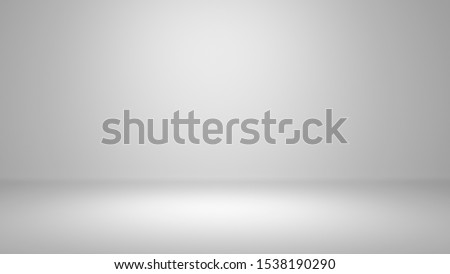 minimal clean blank trade show booth for designers. Background empty room studio with modern space for your text, picture, product, gallery, banner, presentation, offer. copy space - 3d rendering.