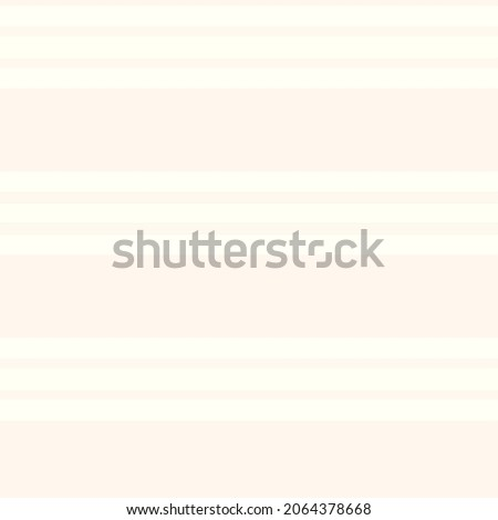 Minimal ecru jute plain horizontal stripe texture pattern. Two tone washed out beach decor background. Modern rustic brown sand color design. Seamless striped distress shabby chic pattern.