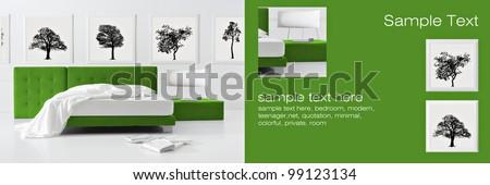 minimal nature bedroom background