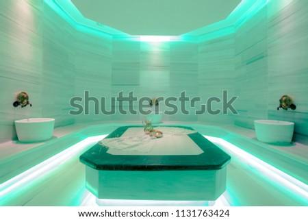 minimal turkish bath