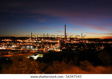 Mining city Mount Isa, Queensland, Australia
