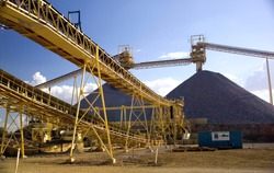 Mining elevators, mining requires huge infrastructure and money to become operational, Australia gold mine.