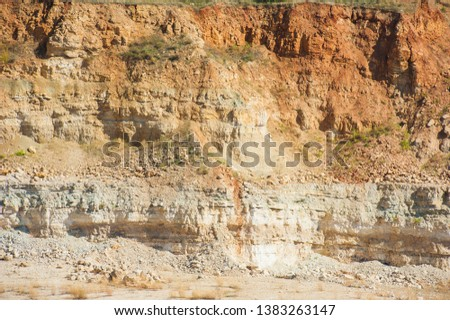 Mining, quarrying, and production of stone at a forsaken quarry #1383263147