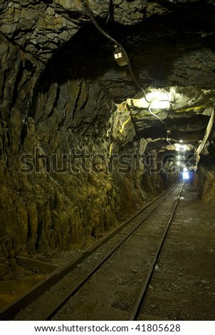 mining tunnel underground
