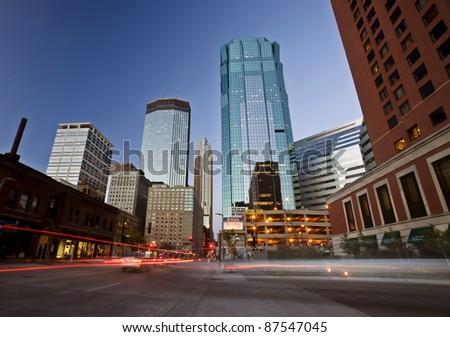 Minneapolis City Photo downtown skyline Minnesota Midwest
