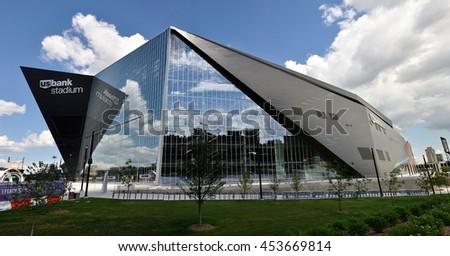 Minneapolis mn usa july 15 2016 minnesota vikings us bank stadium