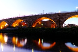 Minneapolis stone bridge