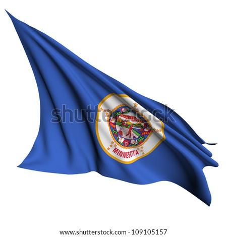 Minnesota flag - USA state flags collection no_2