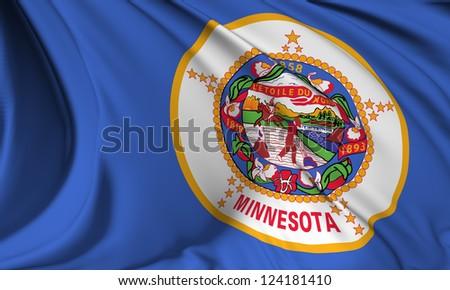 Minnesota flag - USA state flags collection no_3