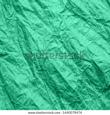 Mint color paper. Texture of recycled paper color aqua menthe. Background kraft paper. Wallpaper for creativity and design. Stock photo ©