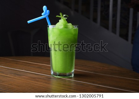 mint margarita , mint shake , chocolate shake , mint juice   #1302005791