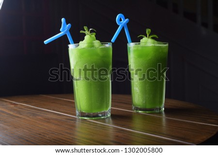 mint margarita , mint shake , chocolate shake , mint juice   #1302005800