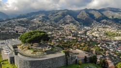 Miradouro Pico dos Barcelos, Madeira, Portugal