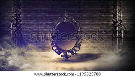 Mirror magical, fortune telling and fulfillment of desires. #1195525780