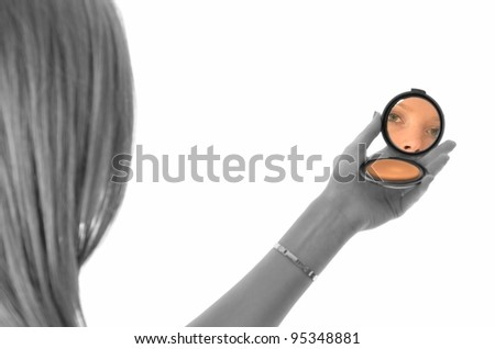 mirror make-up
