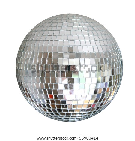 mirror sphere isolated
