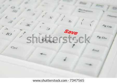 Miscellaneous conceptual inscriptions on a keyboard enter key