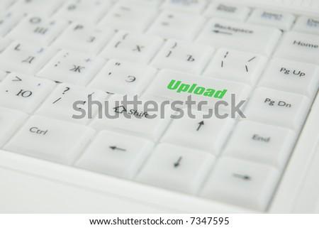 Miscellaneous conceptual inscriptions on a keyboard enter key