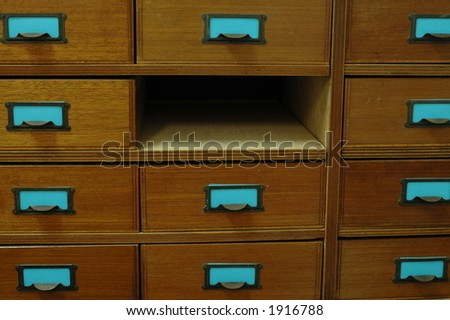 missing drawer