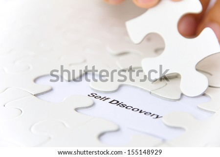 missing puzzle piece, self discovery concept