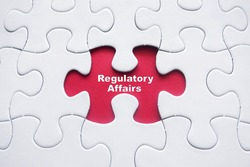 Missing puzzle with word: Regulatory Affairs