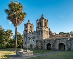 Mission Concepcion in San Antonio Missions National Historic Park