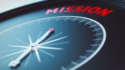 mission concept picture (3D Render)