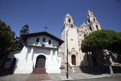 Mission Dolores, a late 18th century Catholic Church in San Francisco, is the city's oldest standing structure.