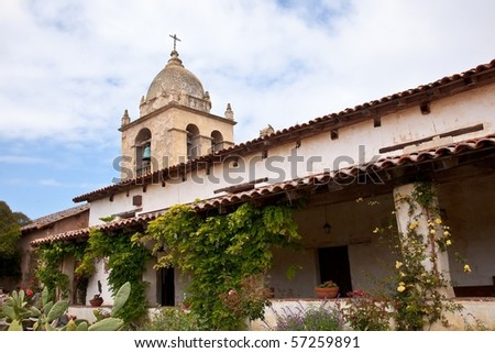 Mission San Carlos Borromeo de Carmelo, also known as the Carmel Mission, is a historic Roman Catholic mission church in Carmel-by-the-Sea, California.