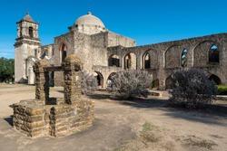 Mission San Jose in San Antonio Missions National Historic Park