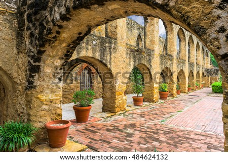 Shutterstock Mission San Jose in San Antonio, Texas, USA.