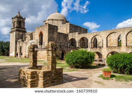 Mission San Jose is a historic Catholic mission in San Antonio, Texas, USA. It was founded in 1720 by Fray Antonio Margil de Jesus.