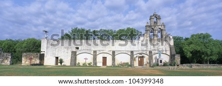 Mission San Juan from ca. 1750, San Antonio, Texas