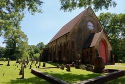 Mississippi church cemetery graveyard headstones