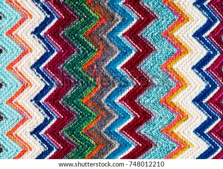 Missoni fabric wool texture #748012210