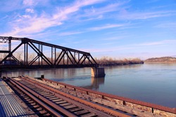 Missouri River Railroad Bridge