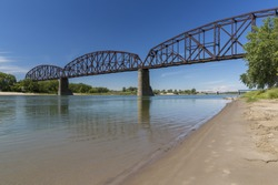 Missouri River Railroad High Bridge