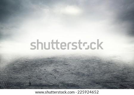Mist on the road #225924652