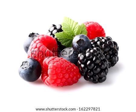 Mix berry in closeup #162297821