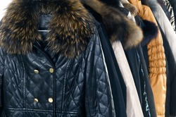 Mix color f casual autumn/winter coat fashion clothing on hanging